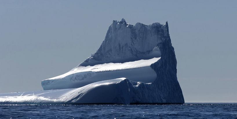Góra lodowa wielkości Radomia oderwała się od lodowca na Grenlandii