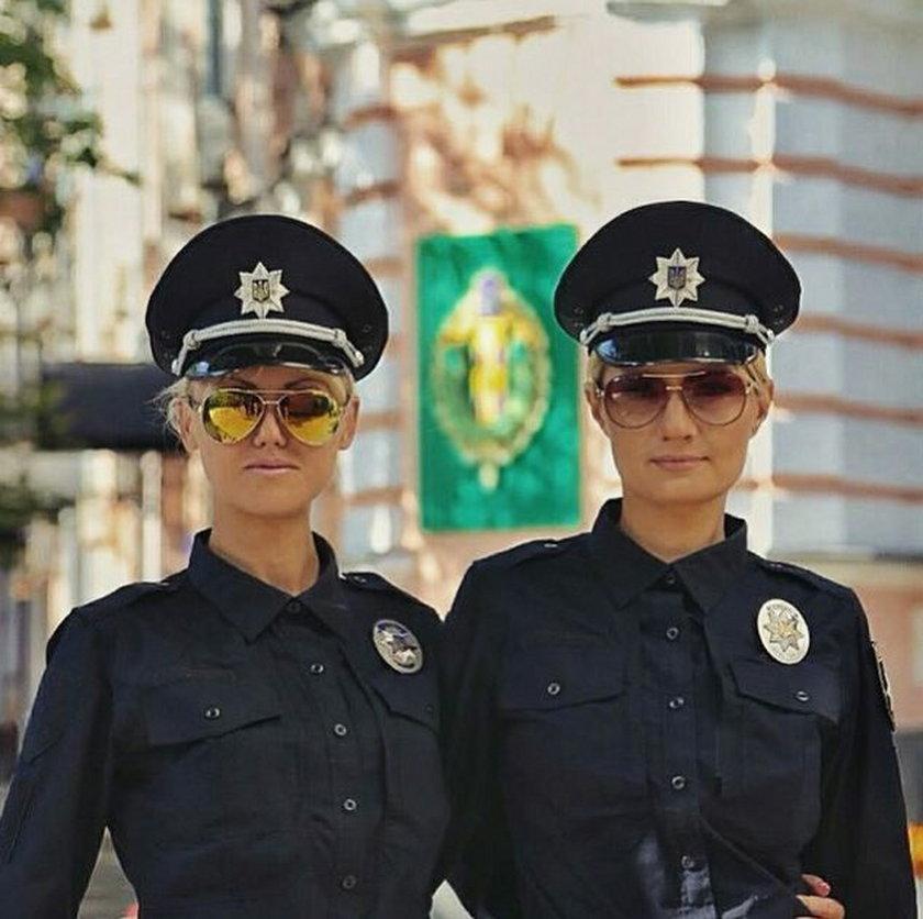 Ukraińska policja robi furorę