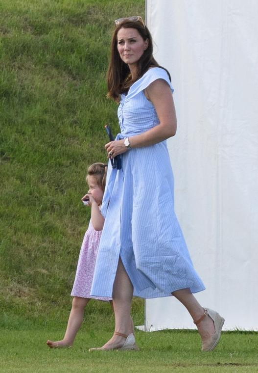 Kate Middleton w sukience z Zary