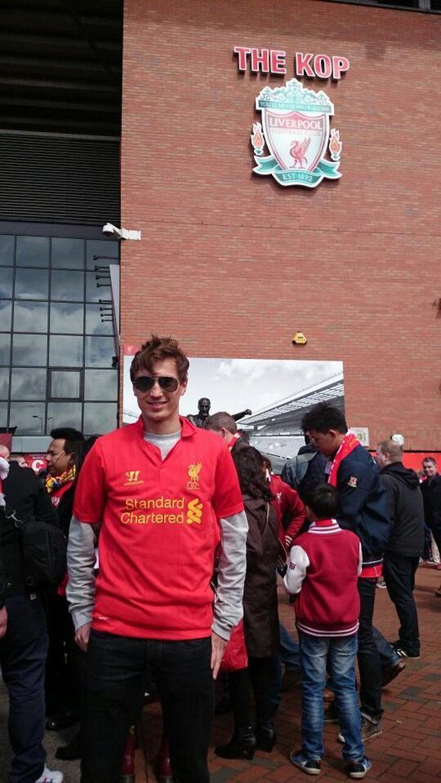 Kamil Stoch jest m.in. wielkim kibicem Liverpoolu