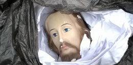 Gimnazjaliści urwali Jezusowi głowę pod Nowym Sączem