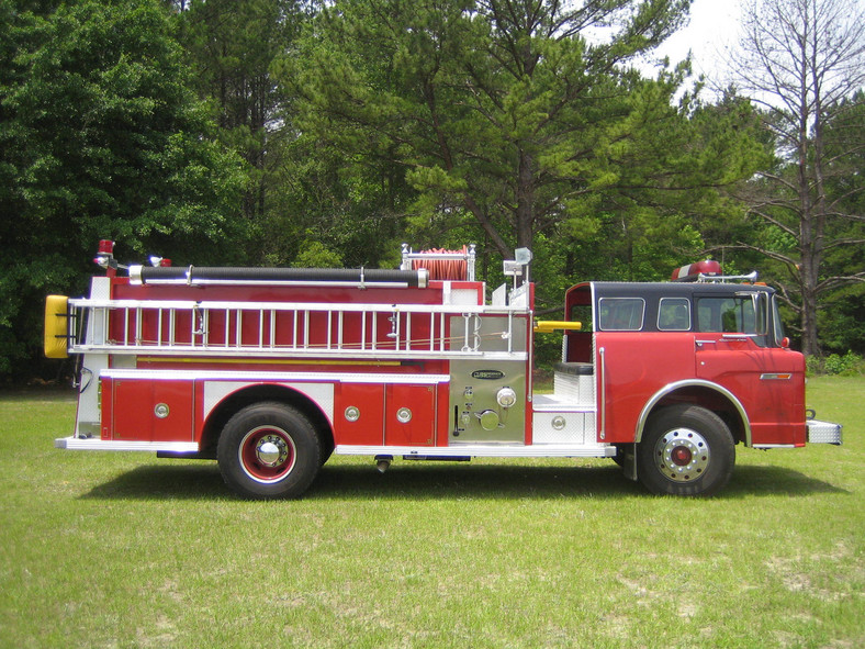 1985 Ford E-One Pumper