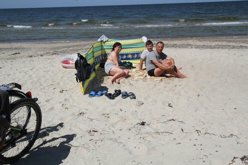 Tłok na plaży