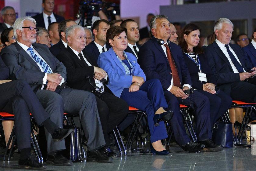 Premier Beata Szydło na Forum Ekonomicznym w Krynicy
