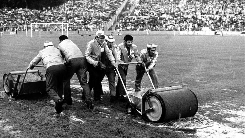Przygotowania do meczu Polska - RFN w 1974 roku
