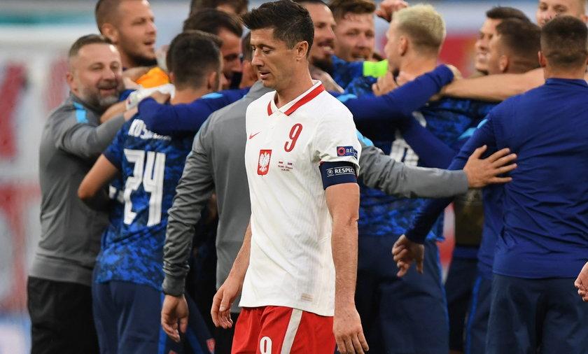 Robert Lewandowski zagrał ze Słowacją w pierwszym meczu Polaków na Euro 2020. Nie był to udany występ