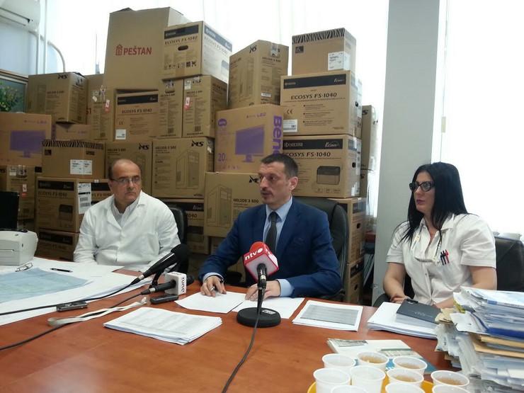 Direktor KC Zoran Radovanović(u sredini), foto V. T.