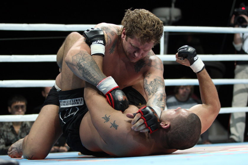 Rosyjski sąd wypuścił zawodnika MMA