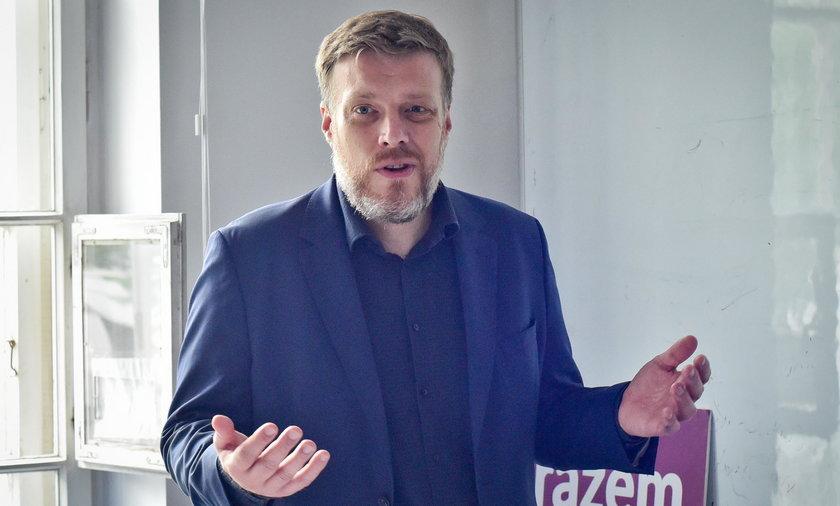 Adrian Zandberg, poseł Lewicy