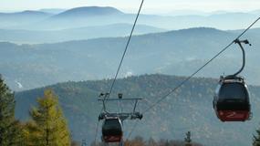 Kolej gondolowa na szczyt Jaworzyny Krynickiej znów kursuje
