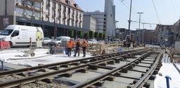Kazimierza Wielkiego wciąż zamknięta dla tramwajów