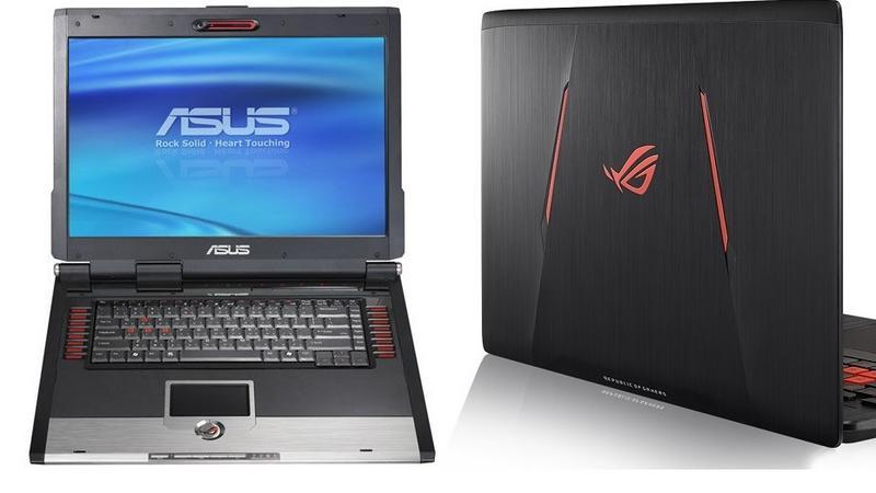 Ewolucja gamingowych laptopów ASUSa