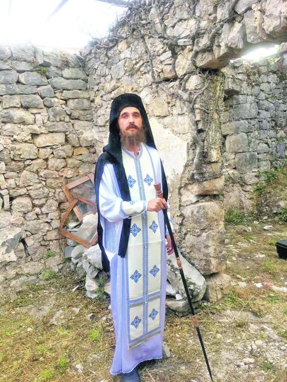 Svetog Mardarija u filmu igra Radivoje - Raša Bukvić