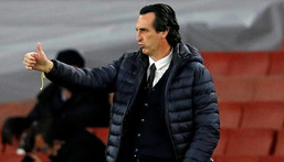 Villarreal boss Unai Emery has reached a fifth Europa League final with a third different club Creator: Adrian DENNIS