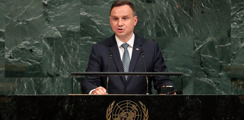 Mocne przemówienie prezydenta Dudy podczas sesji ONZ