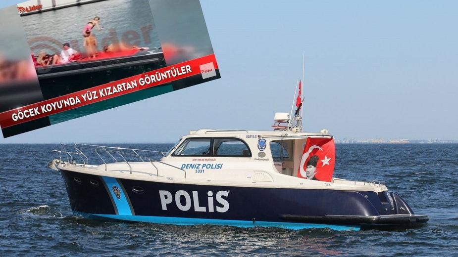 Turcja: Naga sesja na jachcie. Modelki zostały aresztowane przez policję