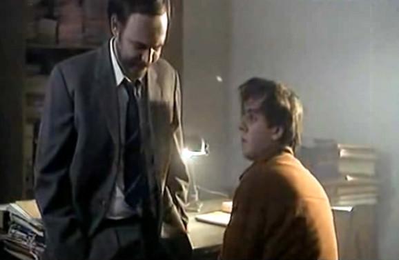 Žarko Laušević i Aleksandar Berček u filmu