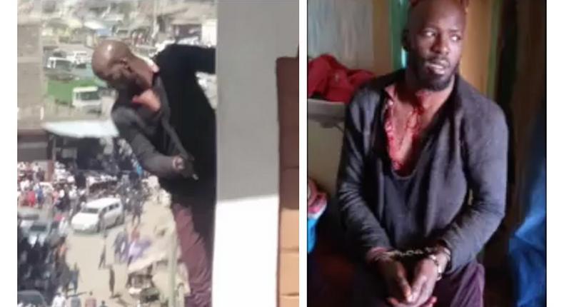 Charles Oluenyi, man accused of brutal murder of Margaret Muchemi