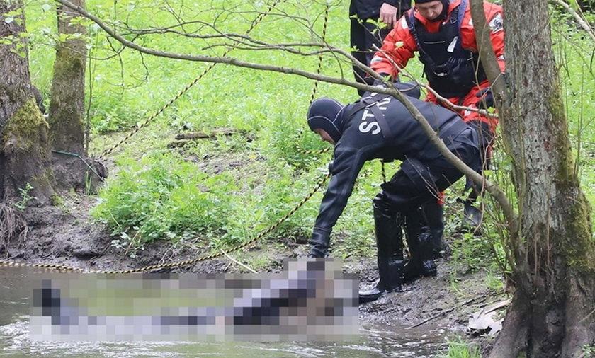 Ciało w Łynie. Tajemnicza śmierć mężczyzny