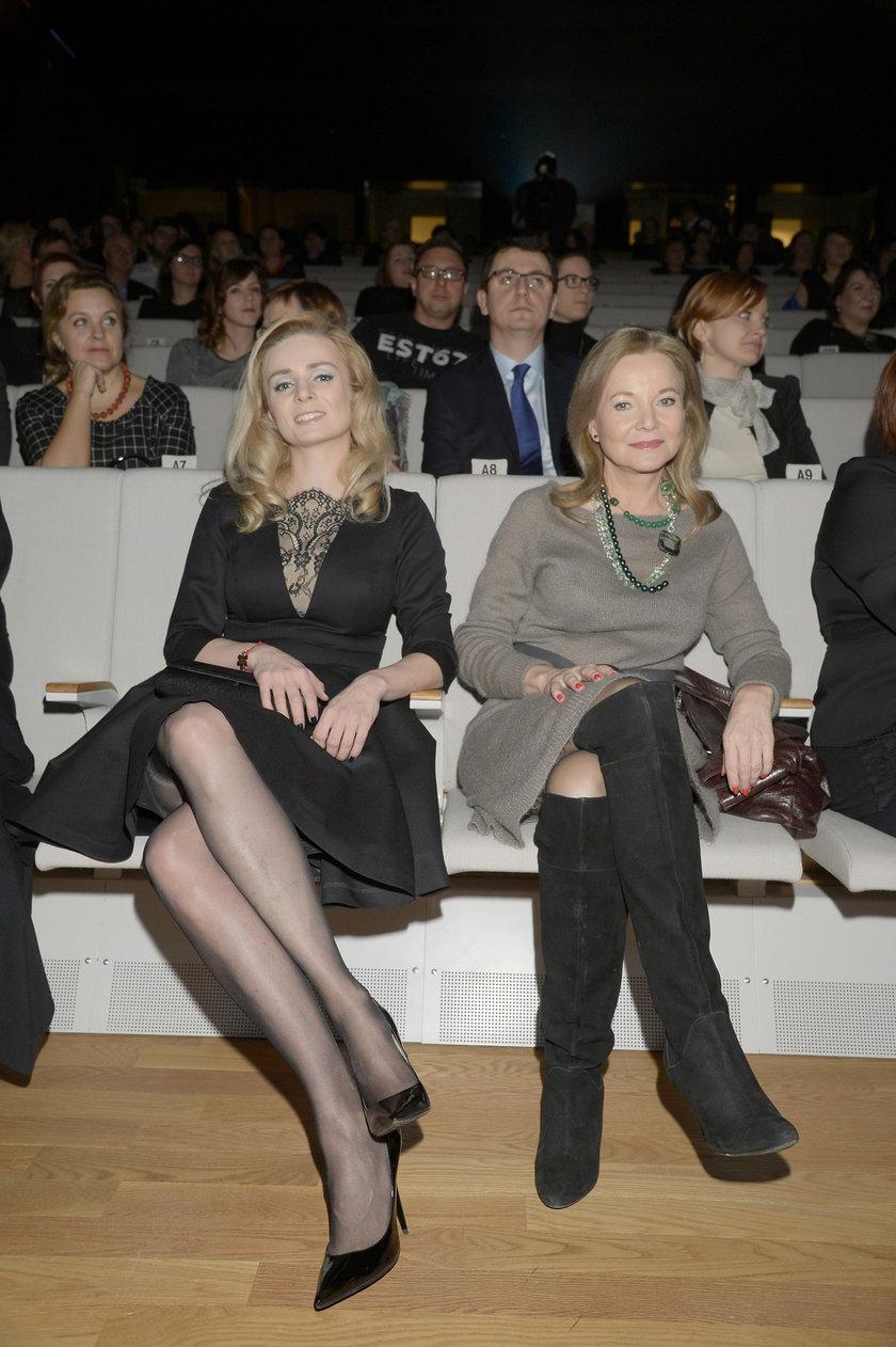Aleksandra Mikołajczyk i Laura Łącz