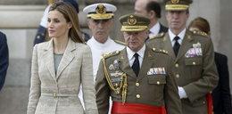 Skromna, ale olśniewająca królowa Letizia