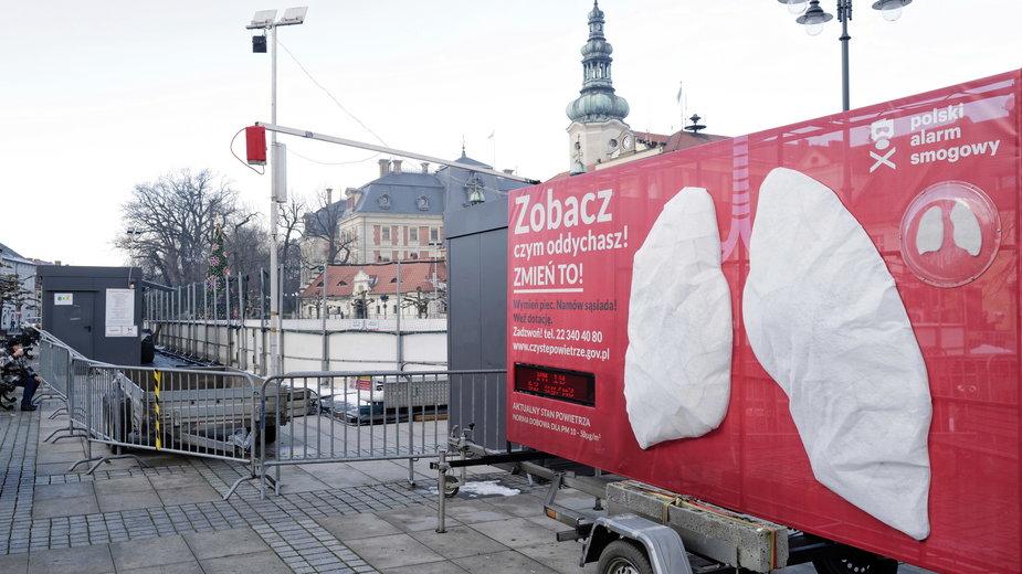 """Polski Alarm Smogowy z akcją """"Zobacz Czym Oddychasz. Zmień to"""" w Pszczynie"""