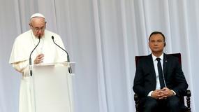 Pierwsze słowa papieża Franciszka w Polsce. Apel o solidarność z uchodźcami