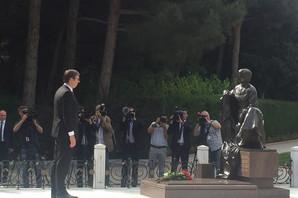 """Vučić u Azerbejdžanu: Za mene kažu da sam """"taf gaj"""", ali umalo sam zaplakao"""