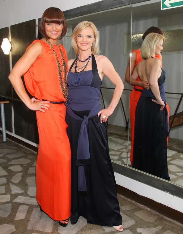 Beata Sadowska i Monika Richardson w wersji glamour
