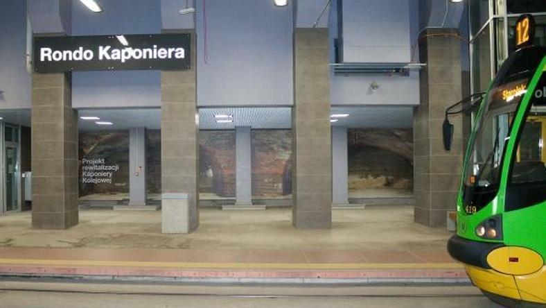 Wyeksponowane mury będą mogli podziwiać pasażerowie PST