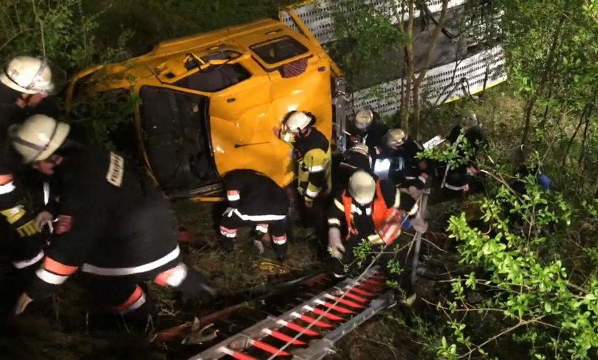 Tragiczny wypadek w Bawarii. Nie żyje polski kierowca