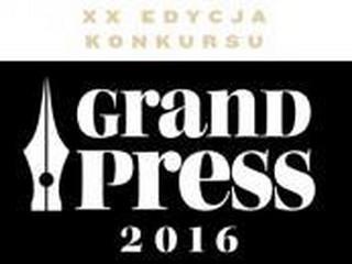Dziennikarze 'Dziennika Gazety Prawnej' nominowani do Grand Press 2016