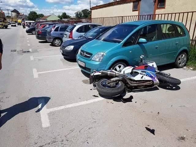 A motort még ellökte, de a bajt nem kerülhette el