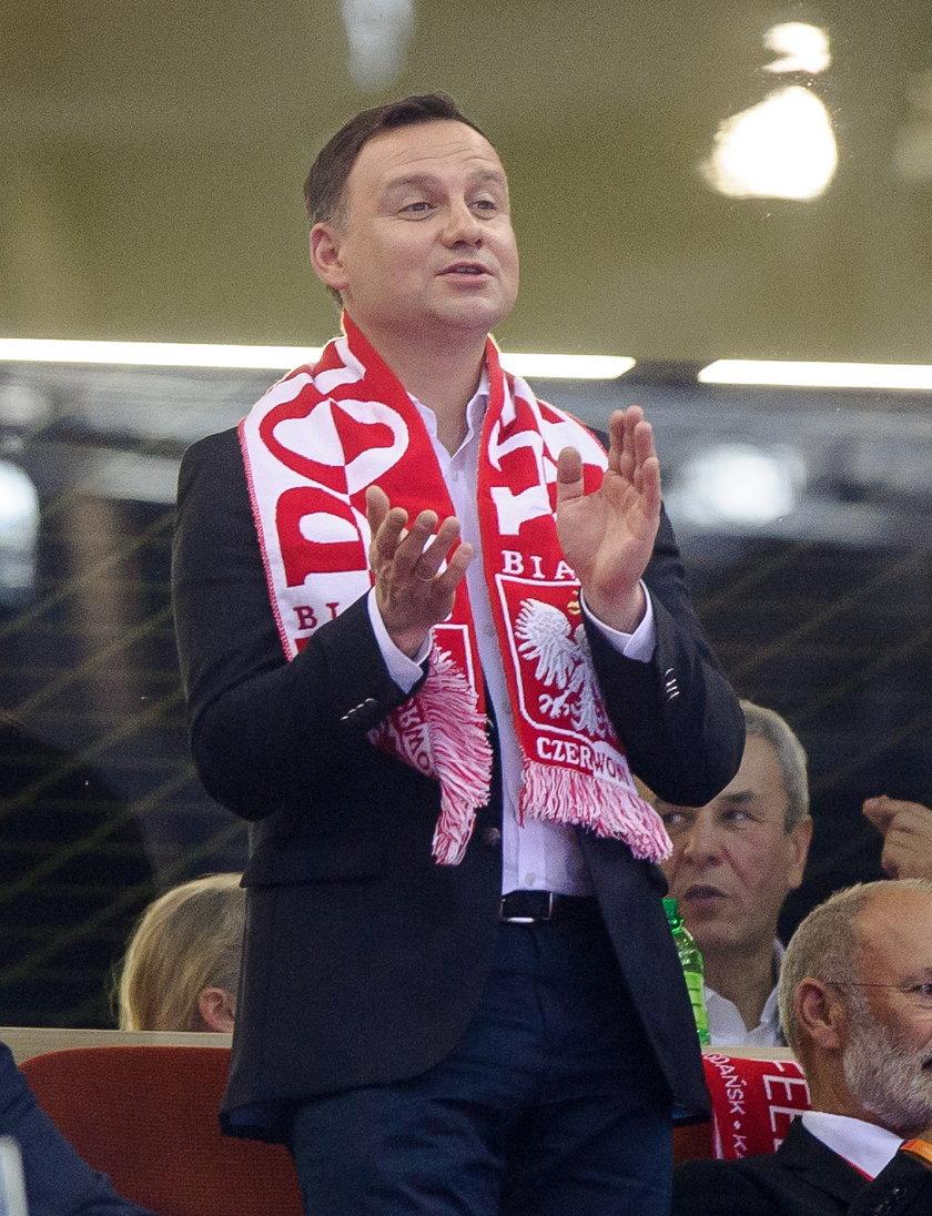 Andrzej Duda spotka się z reprezentantami Polski w Arłamowie!