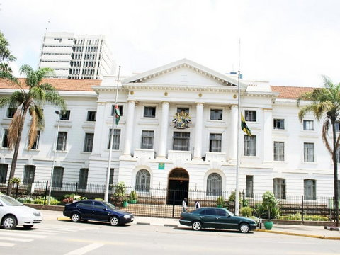 City hall where Nairobi County government offices are located