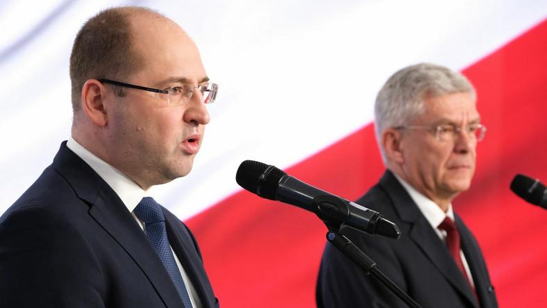 Adam Bielan i Stanisław Karczewski