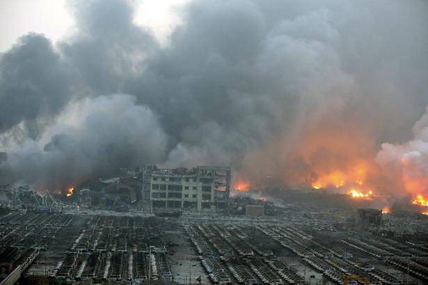 Pożar w Chinach