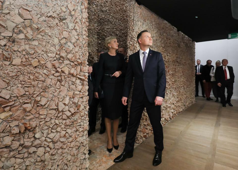 Para prezydencka na otwarciu wystawy w Żydowskim Instytucie Historycznym