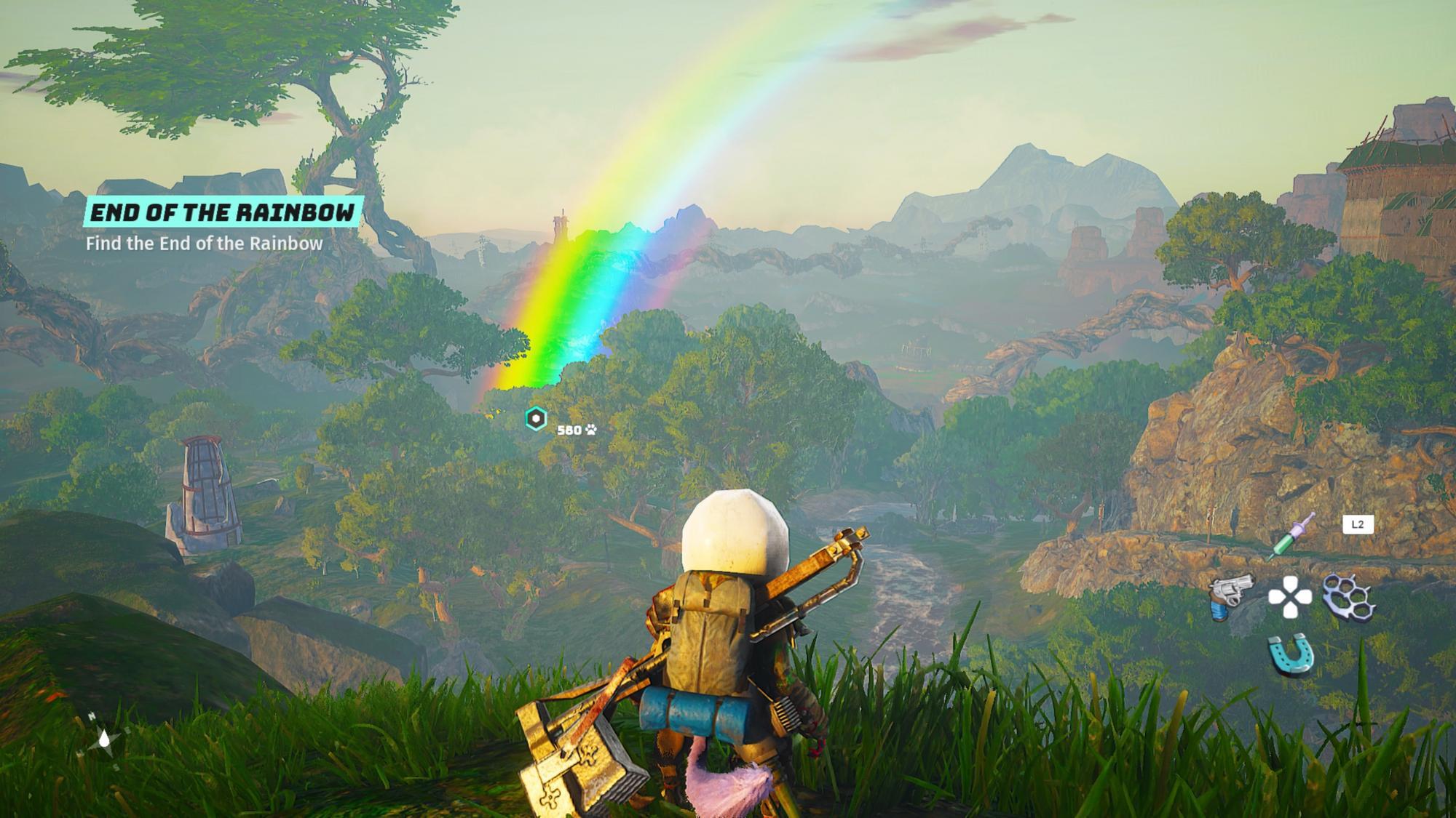 Farebná paleta je v tejto hre obzvlášť výrazná. Nie však za každého počasia.