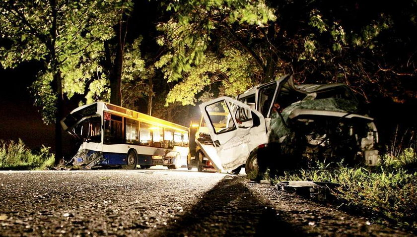 18 rannych w wypadku