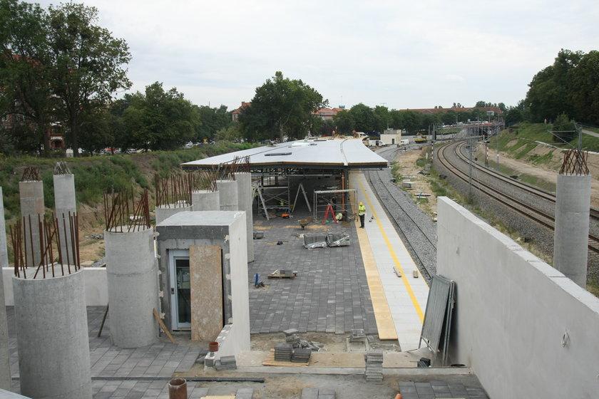 Budowa SKM Śródmieście