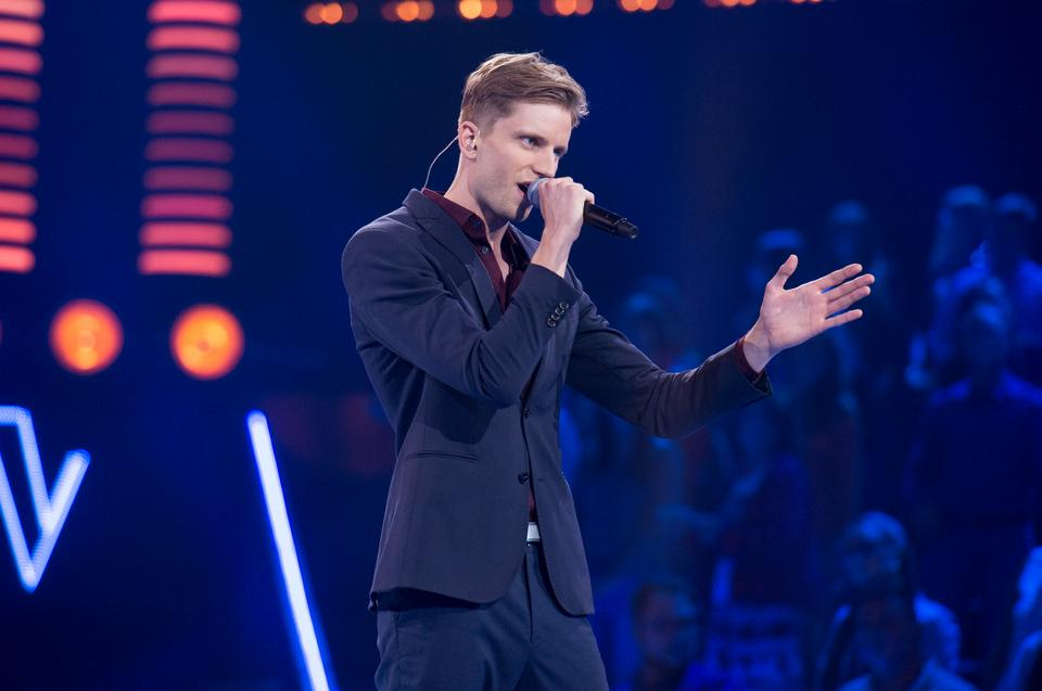 "Bartosz Utracki w ""The Voice of Poland 11"""