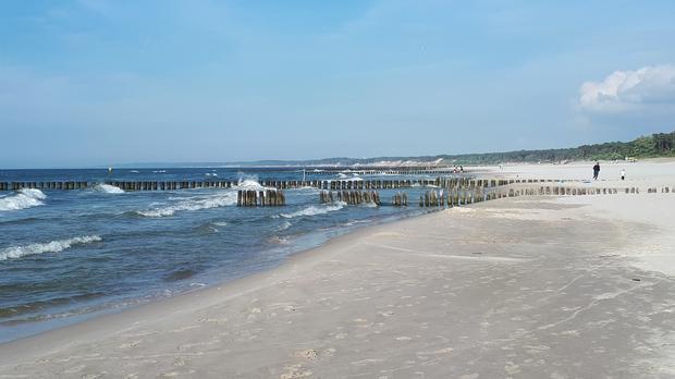 Plaża, Ustka
