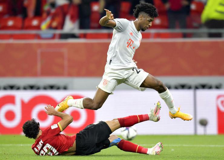 Detalj sa utakmice Bajern Minhen - Al Ahli