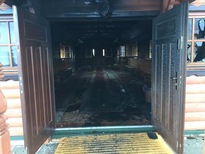 Pożar w świątyni. Ogromne straty