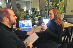 Miloš Aleksic i Marija Mandić, voditelji startit centra rad u trećoj smeni