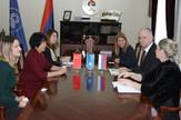Sastanak Radoslava Gajanina vd rektora Univerziteta u Banjaluci sa delegacijom Univerziteta tehnologije i obrazovanja u Tjendjinu