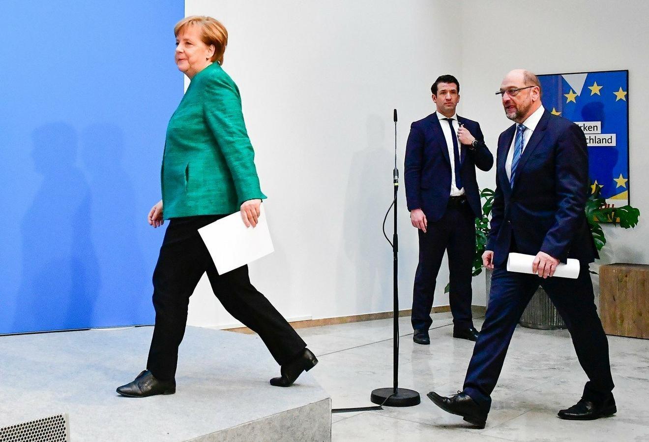 Angela Merkel nedavno u Berlinu