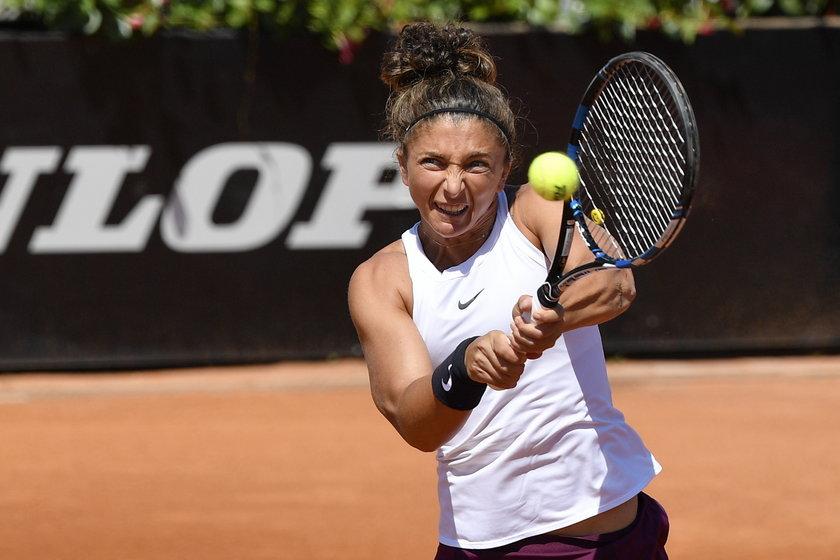 Tenisistka Sara Errani (34 l.). To przez lek mamy.
