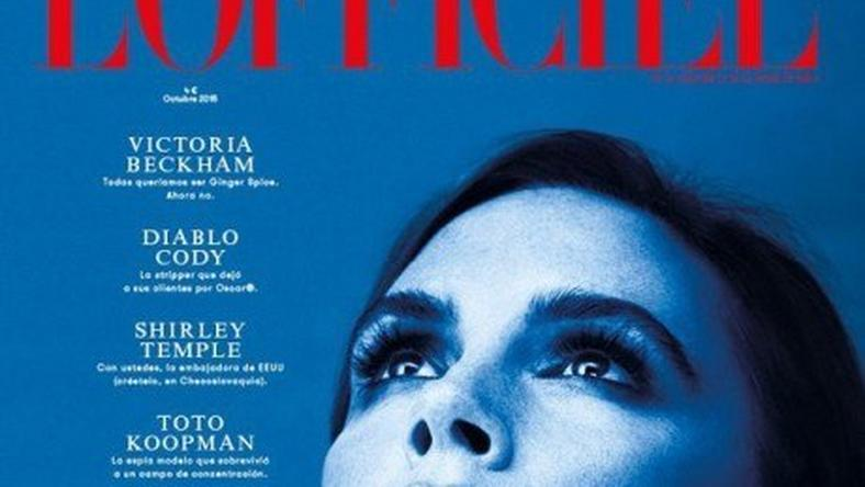 Victoria Beckham covers L'Officiel Spain Magazine